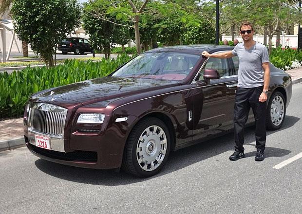 Jenson Button je ambasadorem značky Rolls-Royce