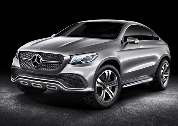 Mercedes-Benz Concept Coupe SUV: Tohle bude MLC