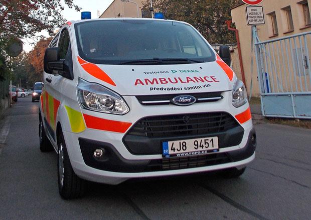 Test: Sanitn� Ford Transit Custom L2 310 - P�eprava pacient�