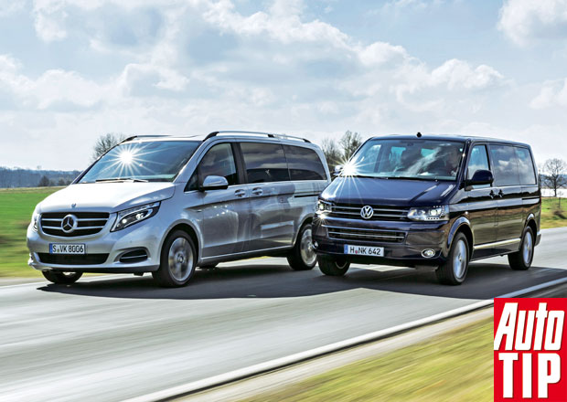 Mercedes-Benz V vs. Volkswagen Multivan