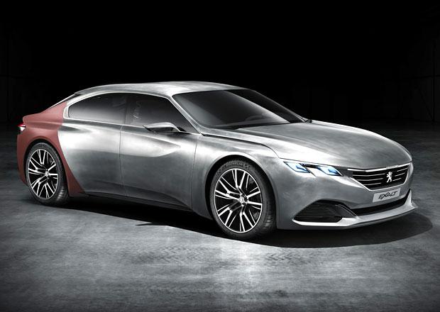 Peugeot Exalt: Elegantní koncept pro Peking (nové foto a video)
