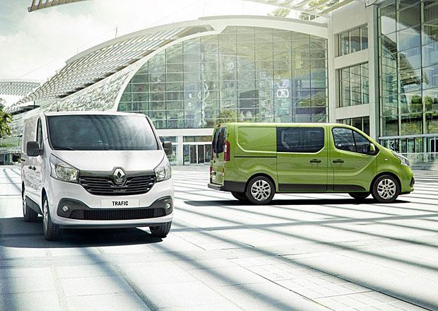 Renault Trafic a Opel Vivaro: Užitková dvojčata se představují podrobněji