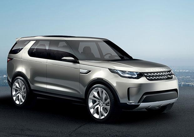 Land Rover Discovery Vision: Předzvěst nového Disca oficiálně (+video)