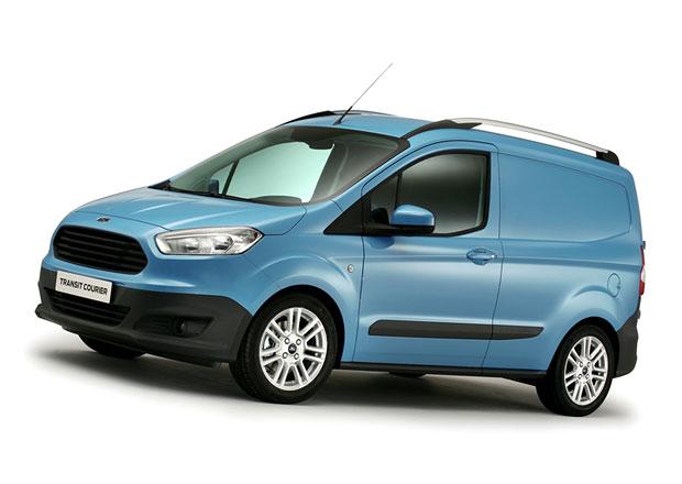 Ford Transit Courier na �esk�m trhu od 307.900 K�