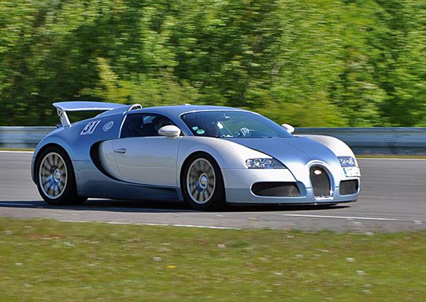 Soutěž: Vyhrajte svezení v Bugatti Veyron na závodním okruhu v Brně