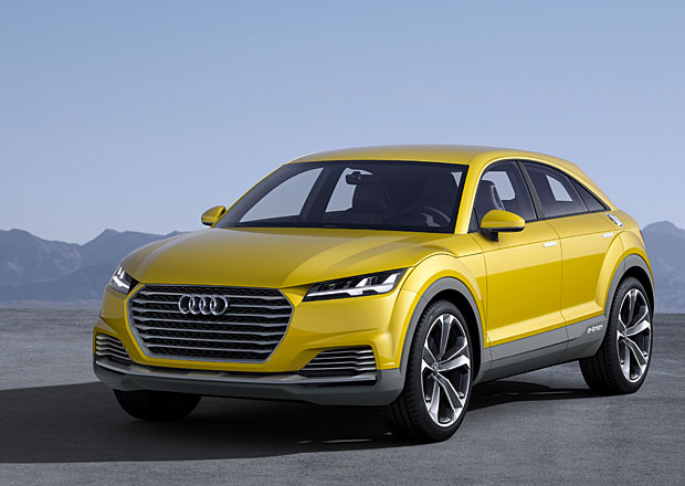 Audi TT offroad: TT do ter�nu s p�rem dve�� nav�c