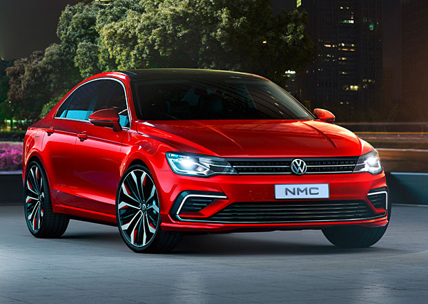 Volkswagen New Midsize Coupe Concept: O třídu menší CC?