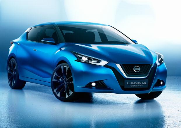 Nissan Lannia Concept: Sedan pro čínské třicátníky