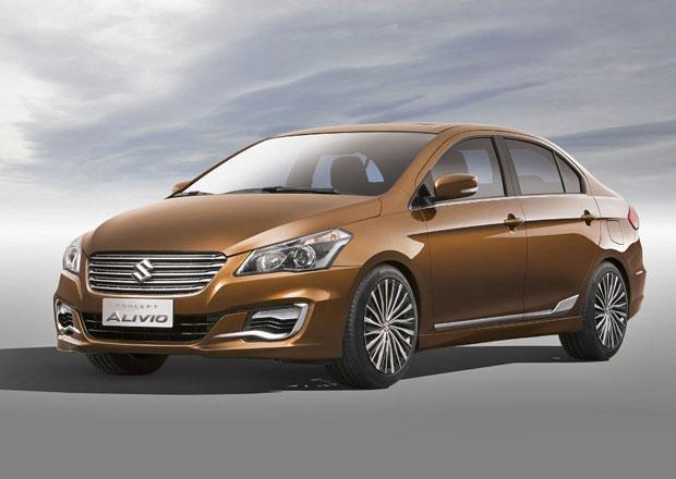 Suzuki Alivio: Takto bude vypadat nástupce SX4 sedan (+video)