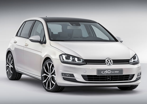 Volkswagen Golf Edition Concept p�ipom�n� 40. v�ro��