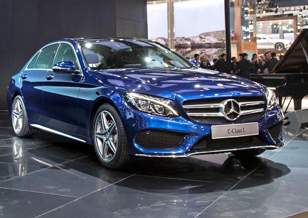 Mercedes-Benz C Long: 80 mm navíc pro Čínu