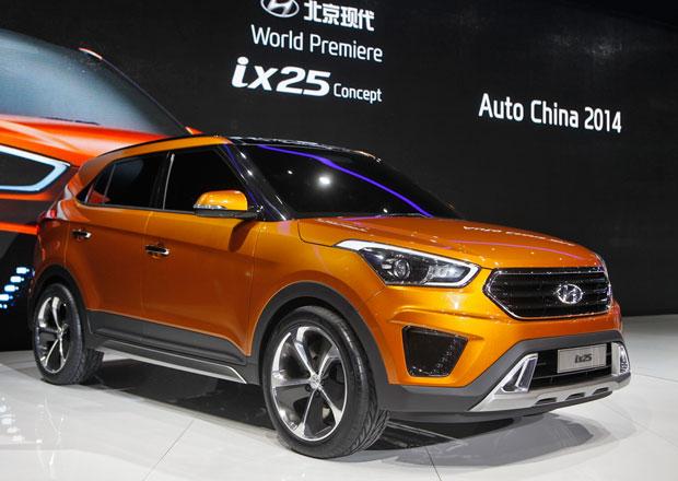 Hyundai ix25: Čínská premiéra zmenšeného Santa Fe