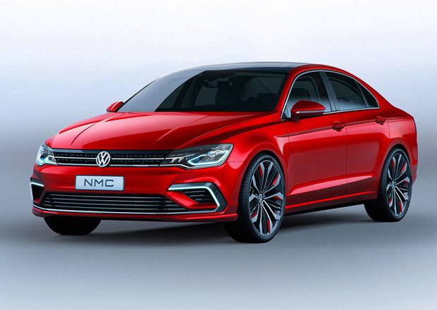 Volkswagen New Midsize Coupe půjde po Mercedes-Benzu CLA