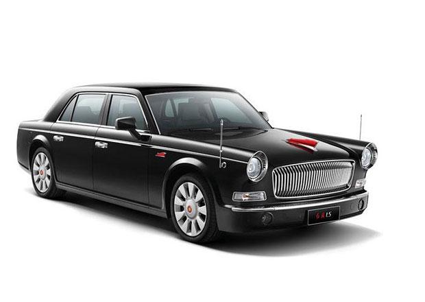 Hongqi L5: Produk�n� verze ��nsk�ho Rolls-Royce
