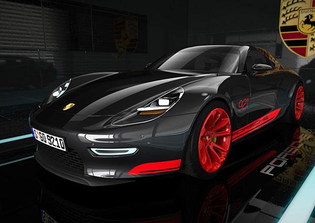Porsche 921: Vize následníka 928 od Anthonyho Colarda