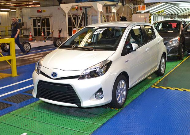 Toyota Yaris: 2,5 milionu aut z francouzského Valenciennes