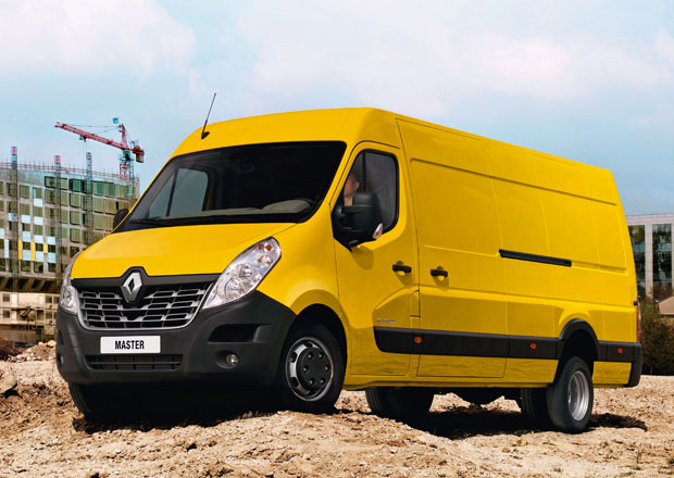 Renault Master se představil v modernizované podobě