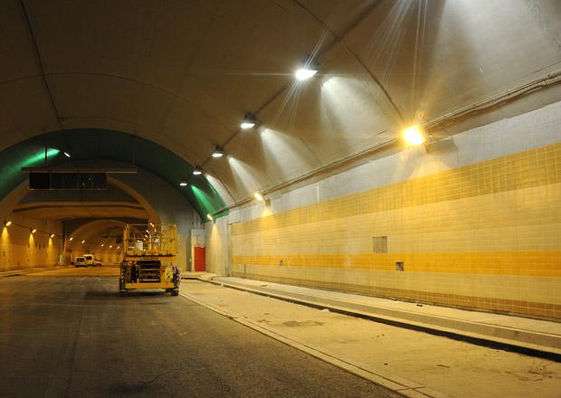 Tunel Blanka se už zase staví, provoz bude spuštěn v září