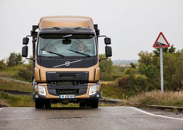 Testování vozů Volvo FL a FE: Pro snadné řízení