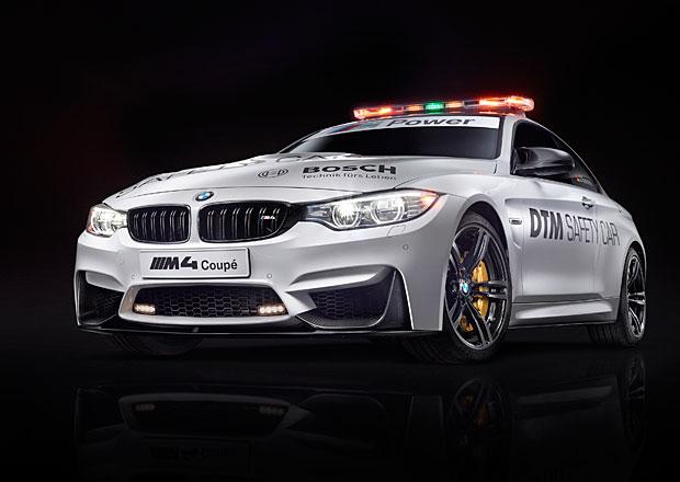 BMW M4: Nový safety car pro DTM s výkonem 431 koní