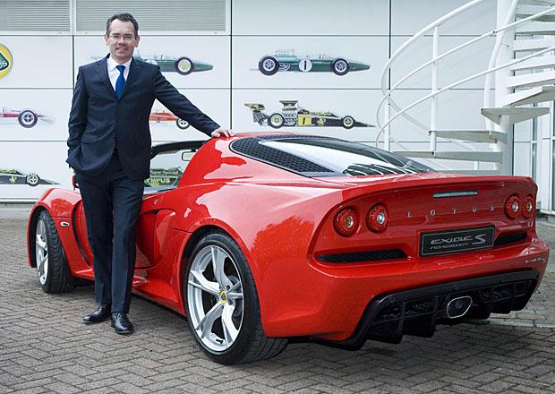 Novým šéfem Lotusu se stal bývalý prezident PSA Jaen-Marc Gales