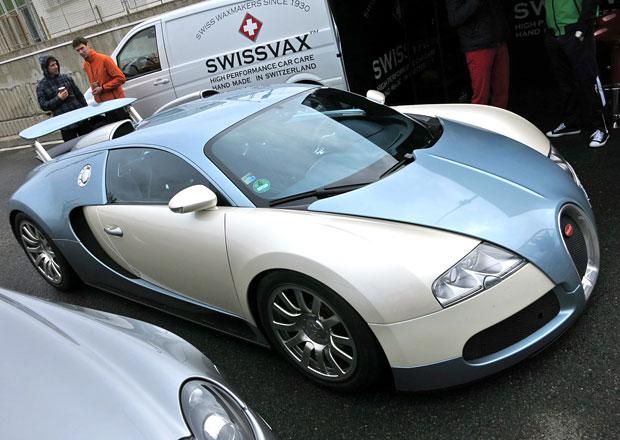 Sraz Klubu sportovních aut v Brně: V hlavní roli Bugatti Veyron