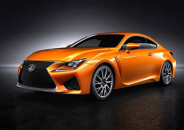 Lexus RC F: Novou oranžovou barvu pojmenují fanoušci na facebooku