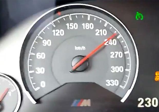 Video: Zrychlení BMW M3 z 0 na 275 km/h