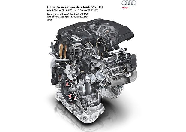 Audi: Nový šestiválec 3.0 TDI má vyšší výkon a splňuje Euro 6
