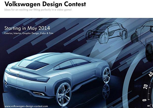 Volkswagen Design Contest: Navrhněte auto pro videohru