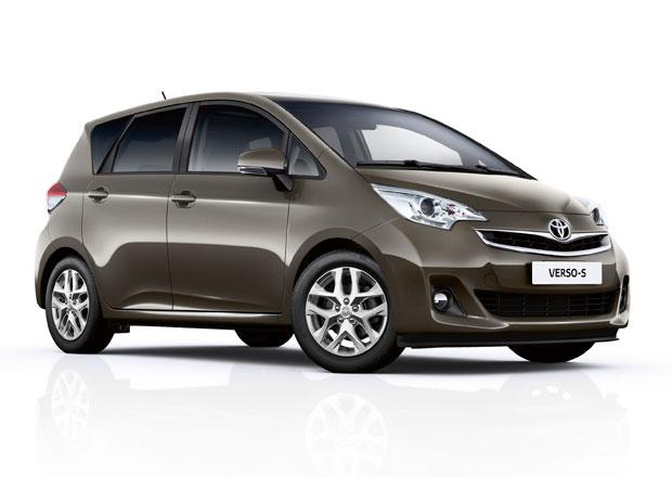 Toyota Verso-S: Čtyřmetrové MPV dostalo nový vzhled