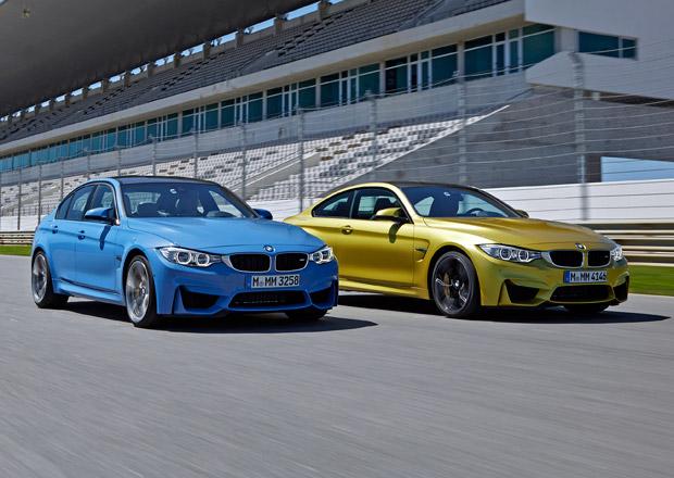 BMW M3 a M4 dostanou čtyřválcové motory