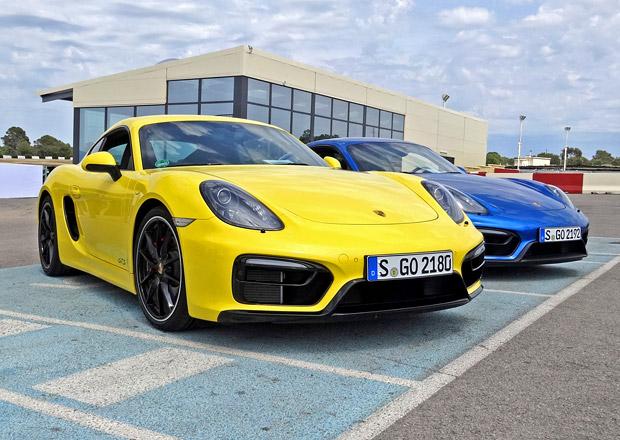 Porsche Cayman GTS a Boxster GTS: První jízdní dojmy