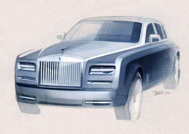 Rolls-Royce Phantom: Nová generace také jako plug-in hybrid