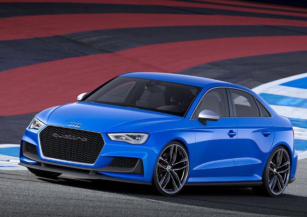Audi A3 Clubsport Quattro: Modrá střela má kufr a 525 koní