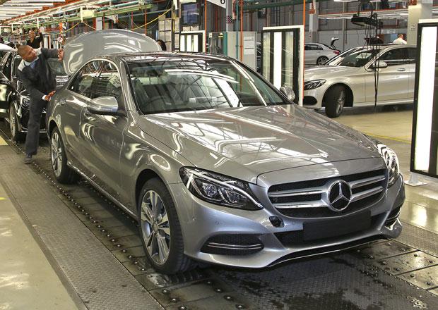 Mercedes-Benz C (W205) se začal vyrábět v Jižní Africe