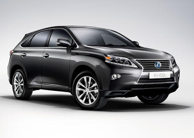 Lexus RX nově s paketem Extra v hodnotě 182.000 Kč