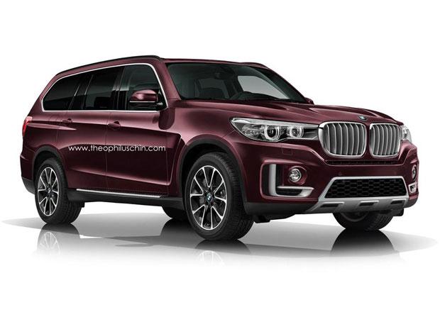 BMW X7: Jak by mohlo vypadat?