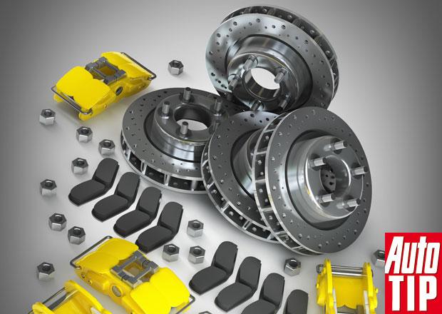 Kotoučové brzdy: Motor vás nezastaví