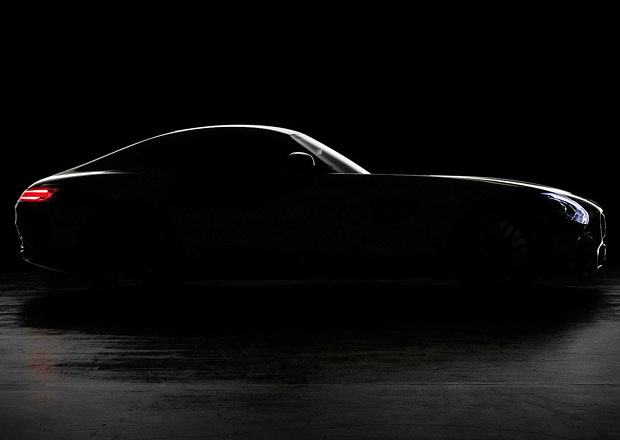 Mercedes-AMG GT ukazuje svou karoserii na první oficiální fotografii (+video)