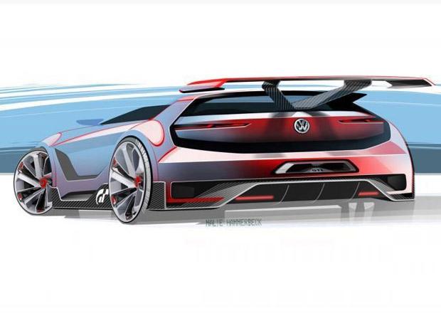Koncept z vesm�ru: Golf GTI Gran Turismo Vision