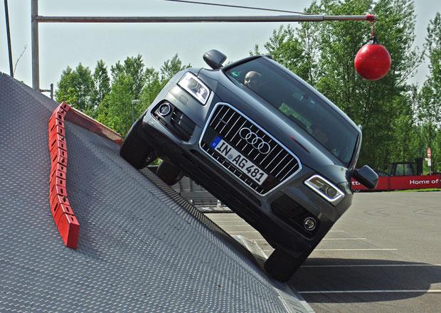 Audi Quattro Experience: O víkendu ve Freestyle Park Modřany