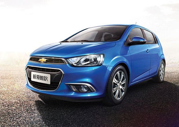Chevrolet Aveo dostal nový vzhled speciálně pro Čínu
