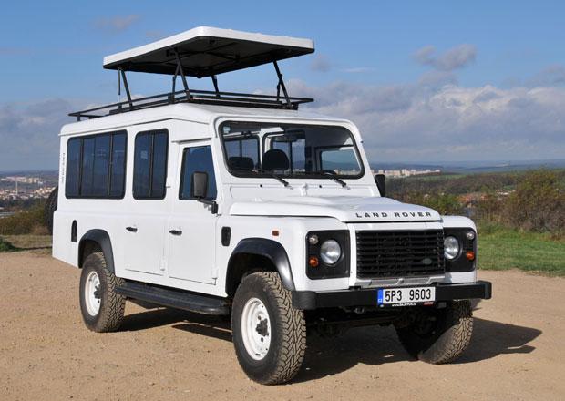 Land Rover Defender Satbir: Mnoho místa do terénu