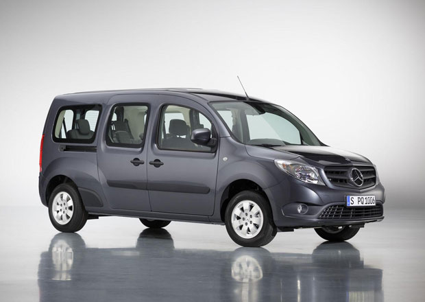 Mercedes-Benz Citan XXL: Větší než třída C