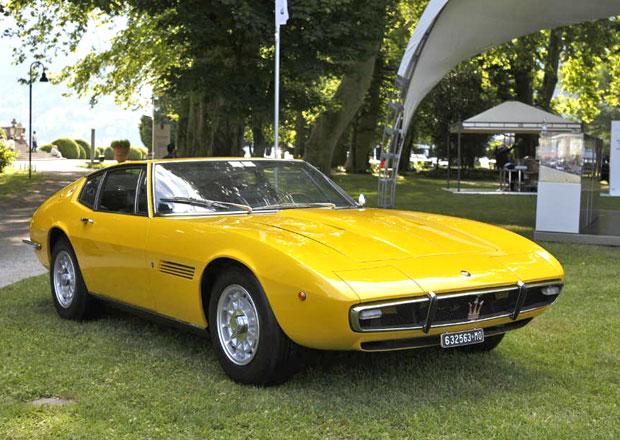 Maserati zaz��ilo na leto�n�m Concorso d�Eleganza Villa d�Este