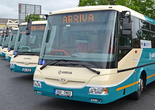 Arriva Praha nasazuje nové autobusy na Příbramsku