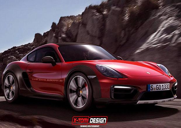 Porsche Cayman Safari: Malé kupé mimo asfalt podle X-Tomi Design