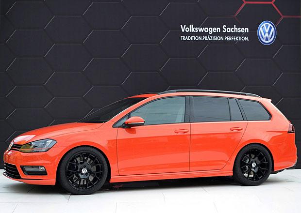VW Golf Variant Youngster 5000: Kombi s 2.0 TSI (320 k) a lakem z Aventadoru
