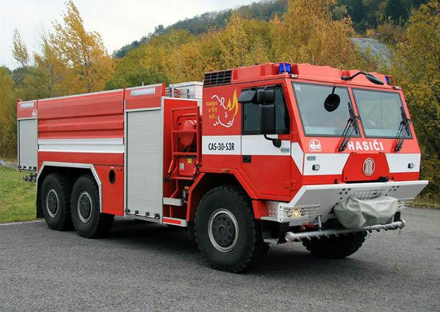 Tatra dodá hasičům na Slovensku vozy za 600 milionů korun